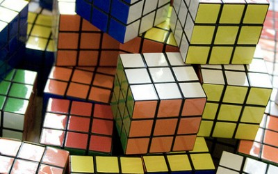 The Rubik Cube Complex: On Ignoring the White Noise So You Can Write