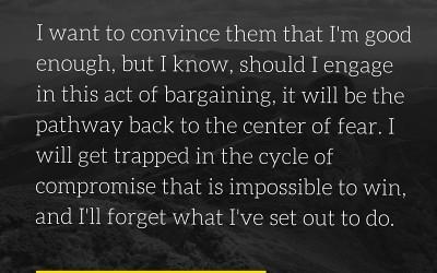 J.D. Brewer on Criticism Vs. Negativity